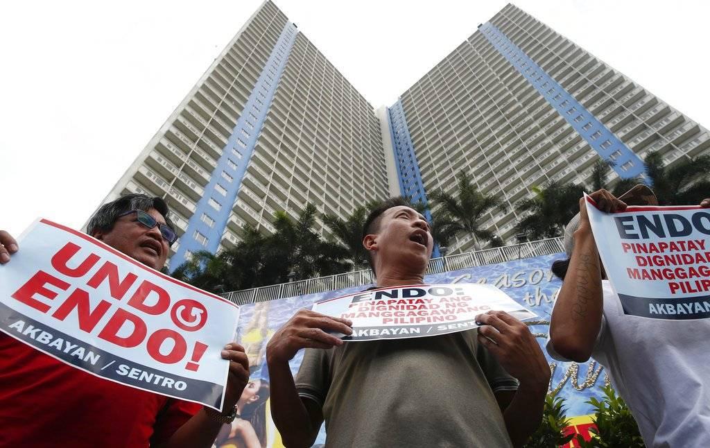 Marchas por el Día del Trabajo en Filipinas
