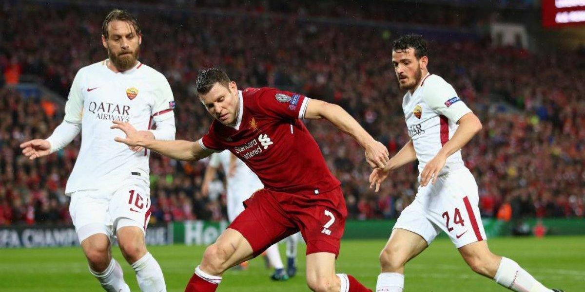 Roma va por otro milagro en la Champions ante Liverpool para ser el rival del Real Madrid