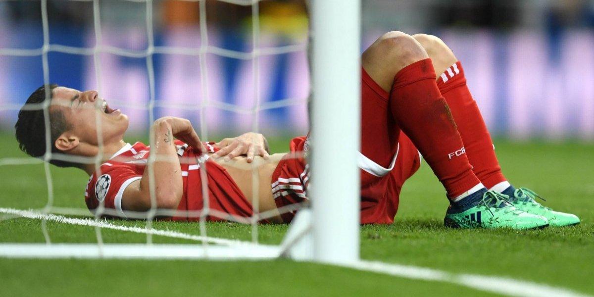 ¡Ahí te dejo, Madrid! James hizo gol, pero el Real eliminó al Bayern