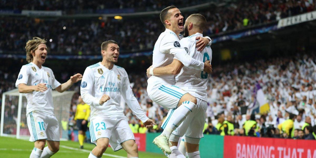 El Gato Benzema le dio otra vida a un Real Madrid que irá por el tricampeonato de la Champions