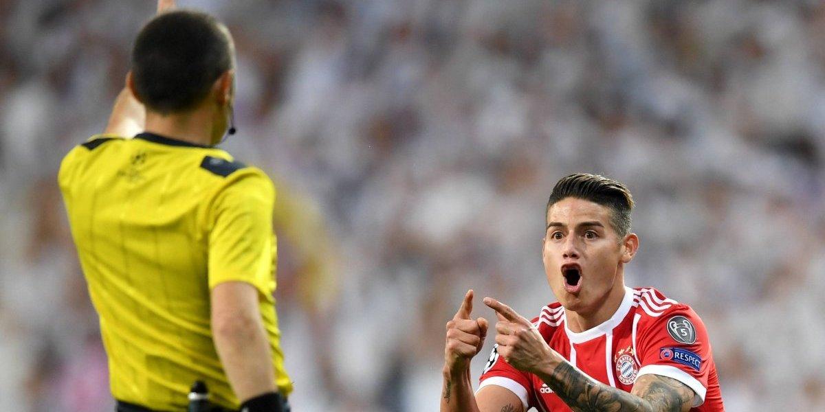 Mamá de James explotó en redes por semifinal entre Real y Bayern