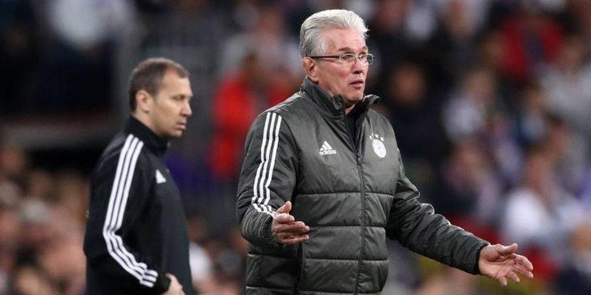 """Heynckes lamenta el adiós del Bayern: """"Fuimos el mejor equipo en los dos partidos, estamos decepcionados"""""""