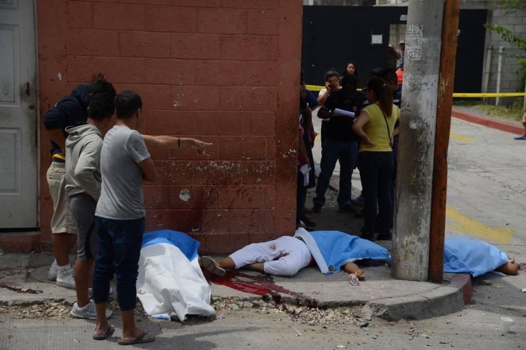 Mujeres asesinadas en el Búcaro