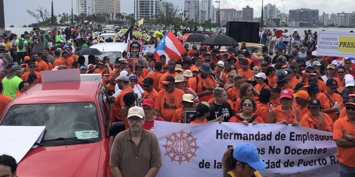 Comité organizador y Policía siguen sin acuerdo sobre logística para manifestación del Primero de Mayo