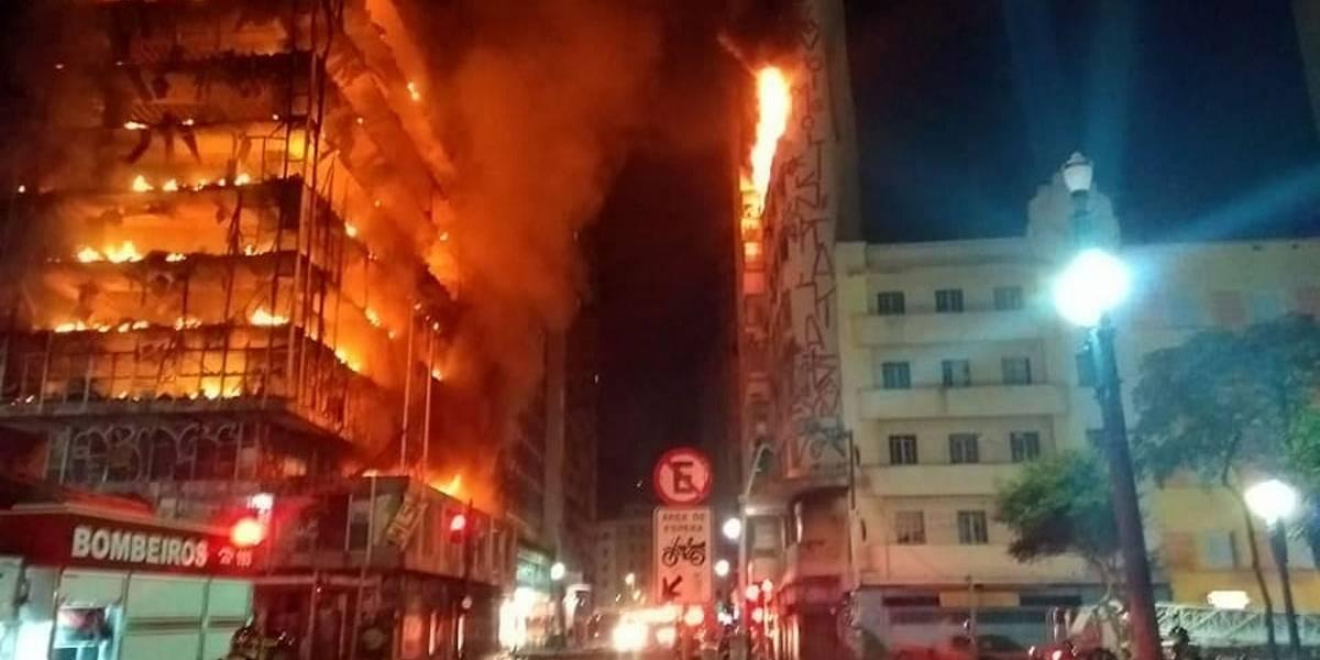 Imprensa internacional repercute incêndio em São Paulo