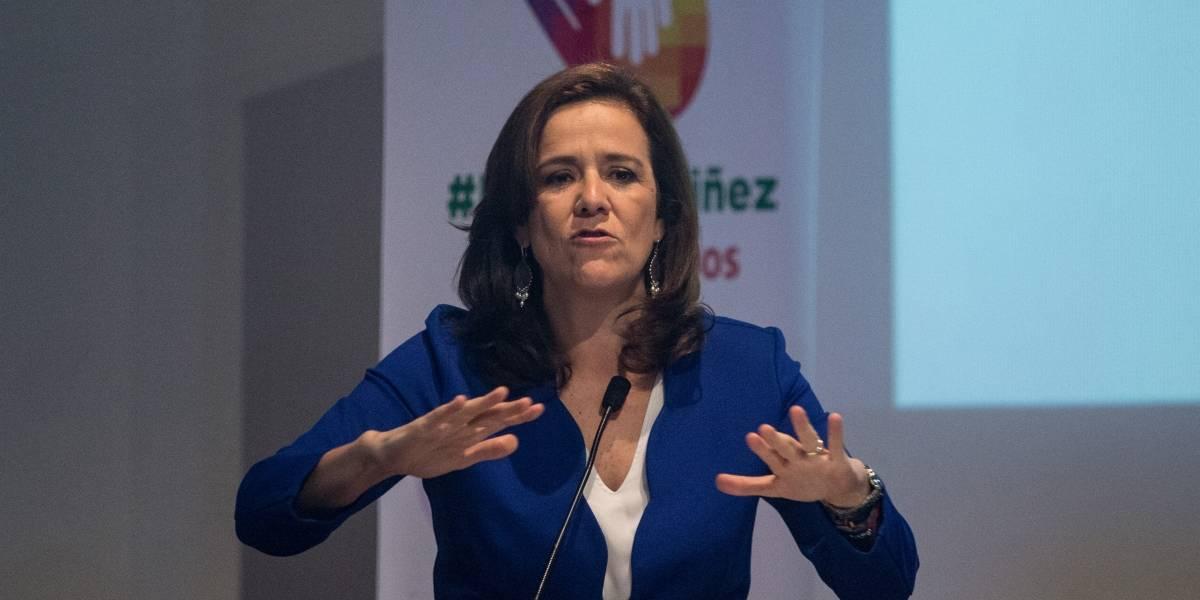 Son inaceptables las amenazas de expropiaciones y persecuciones de Morena: Zavala
