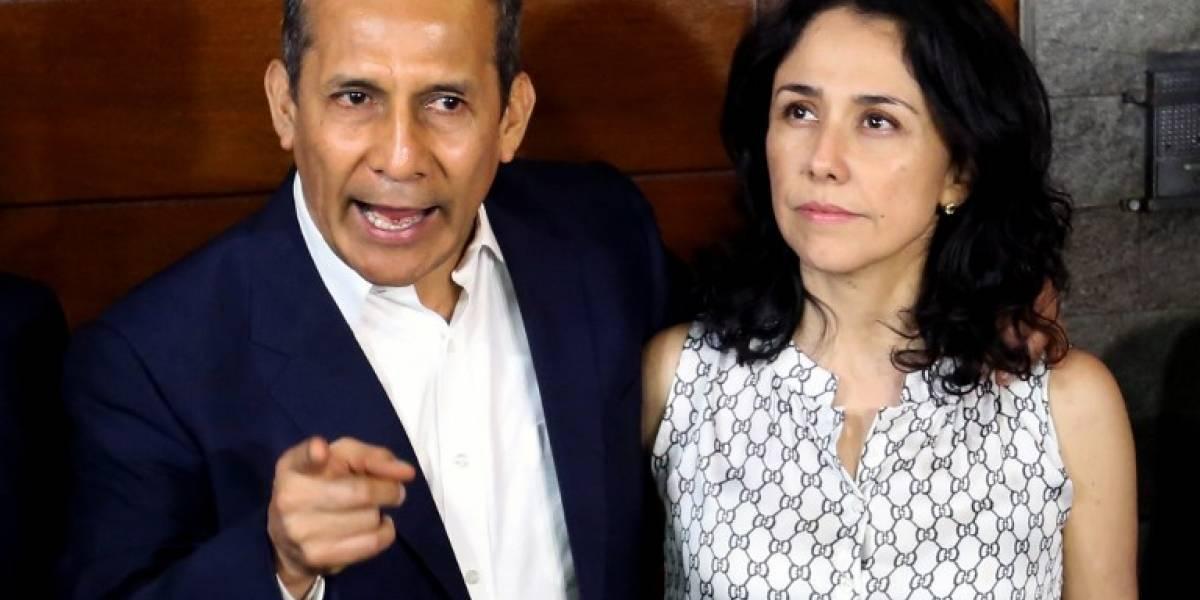 Perú: Expresidente Ollanta Humala y suesposa salen de prisión