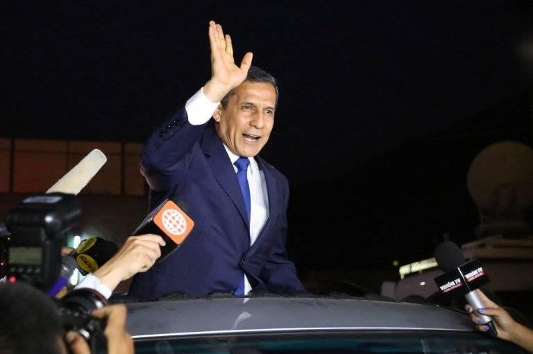Ollanta Humala sale de prisión