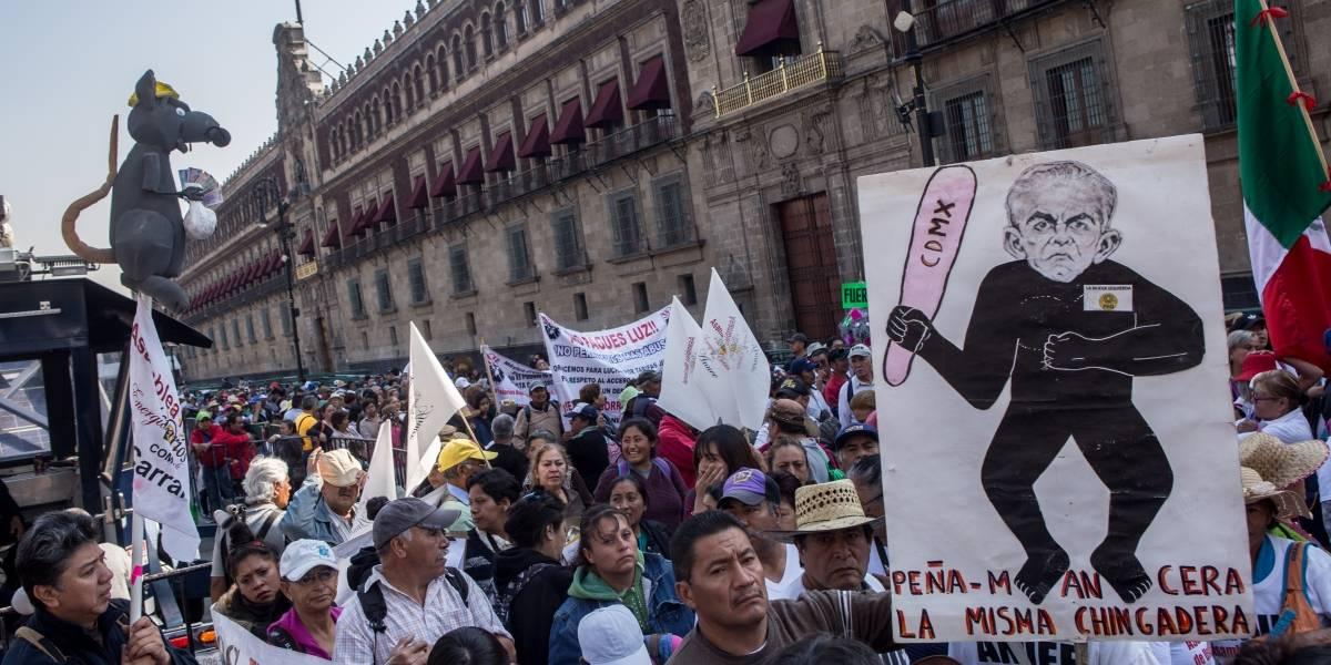 Marchas desquician este jueves a la Ciudad de México