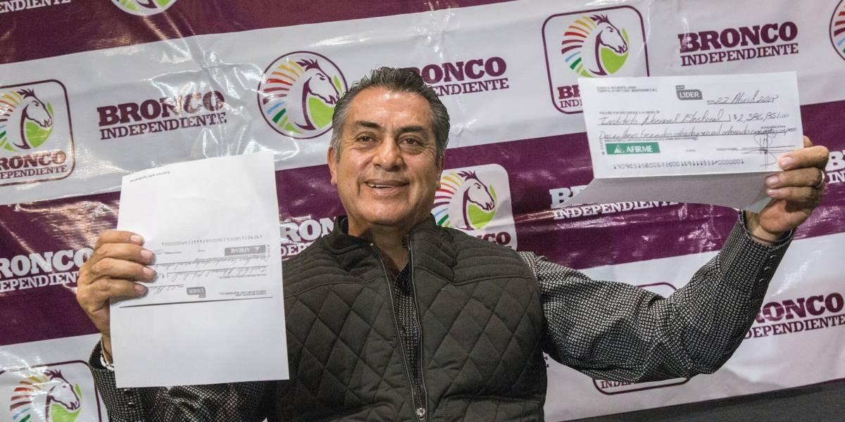 Bronco promete eliminar impuestos a paisanos