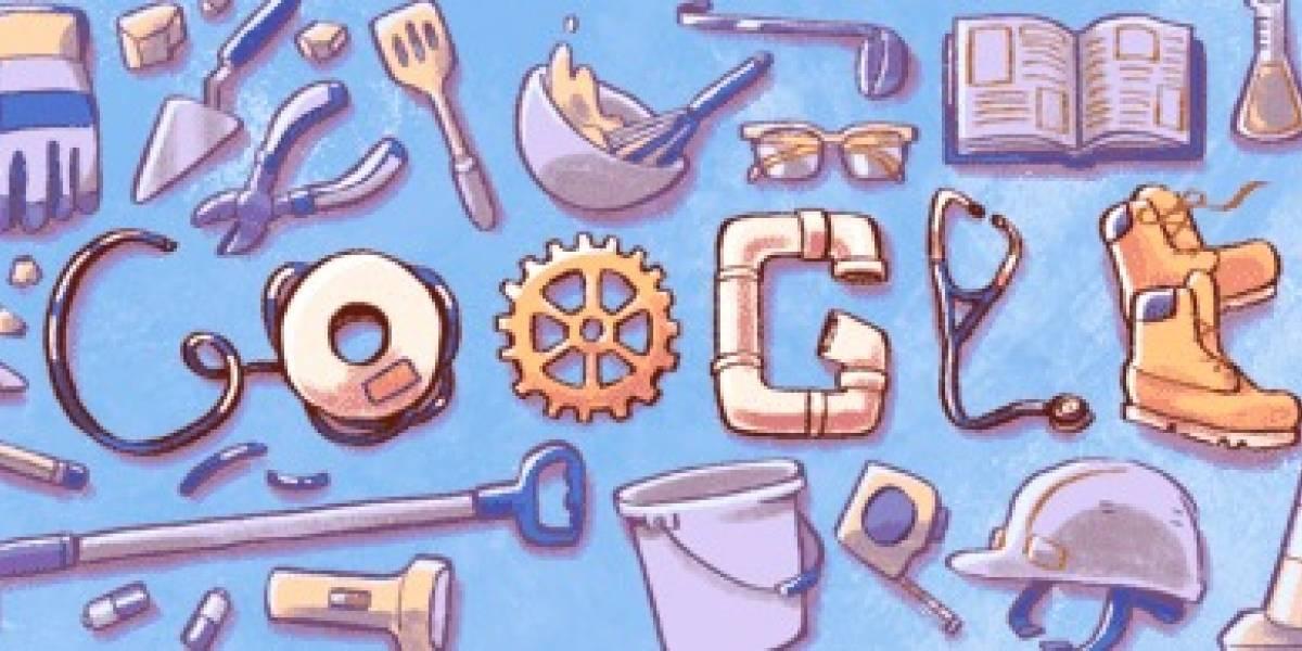 Google festeja Día del Trabajo con emotivo Doodle