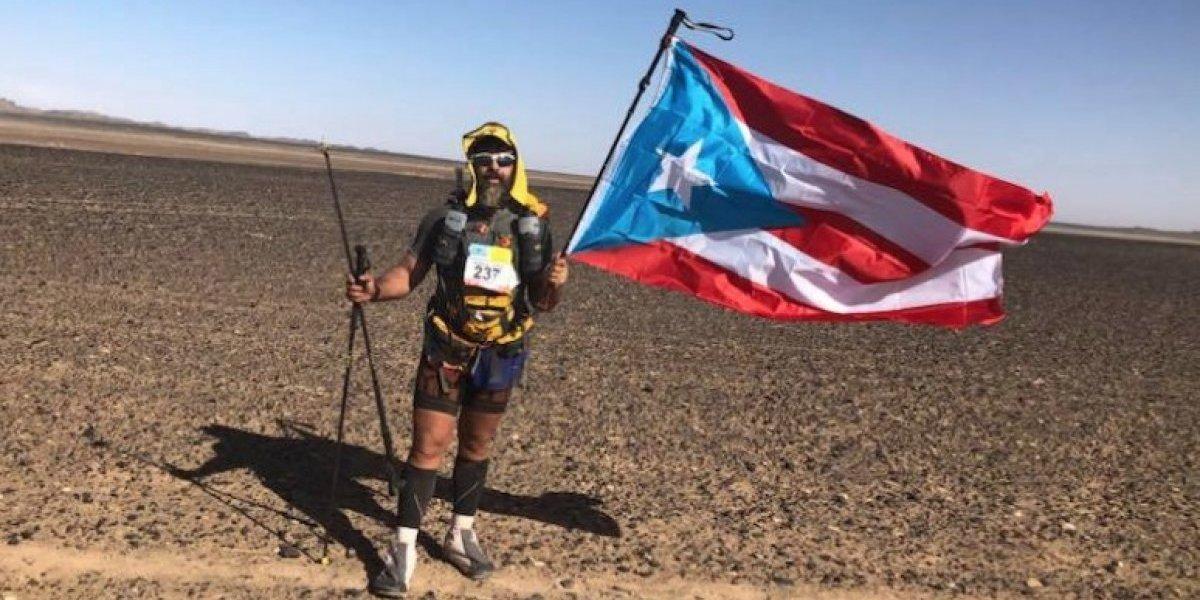 Cirujano puertorriqueño corre 155 millas en maratón de Marruecos