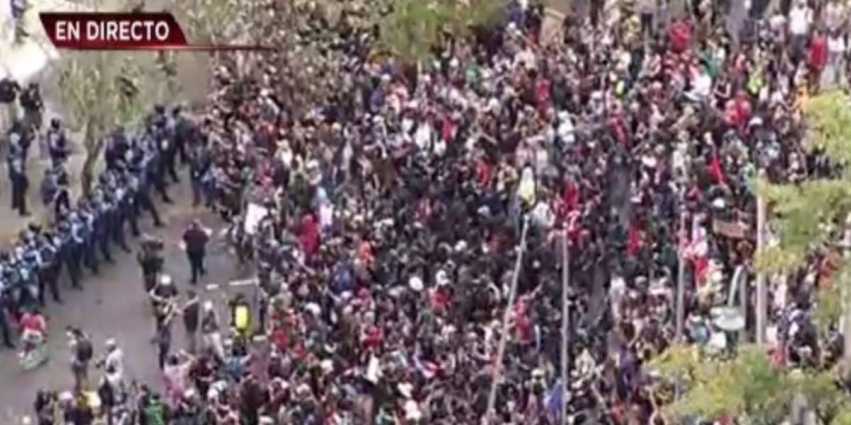 Reportan arrestos tras protesta en Hato Rey