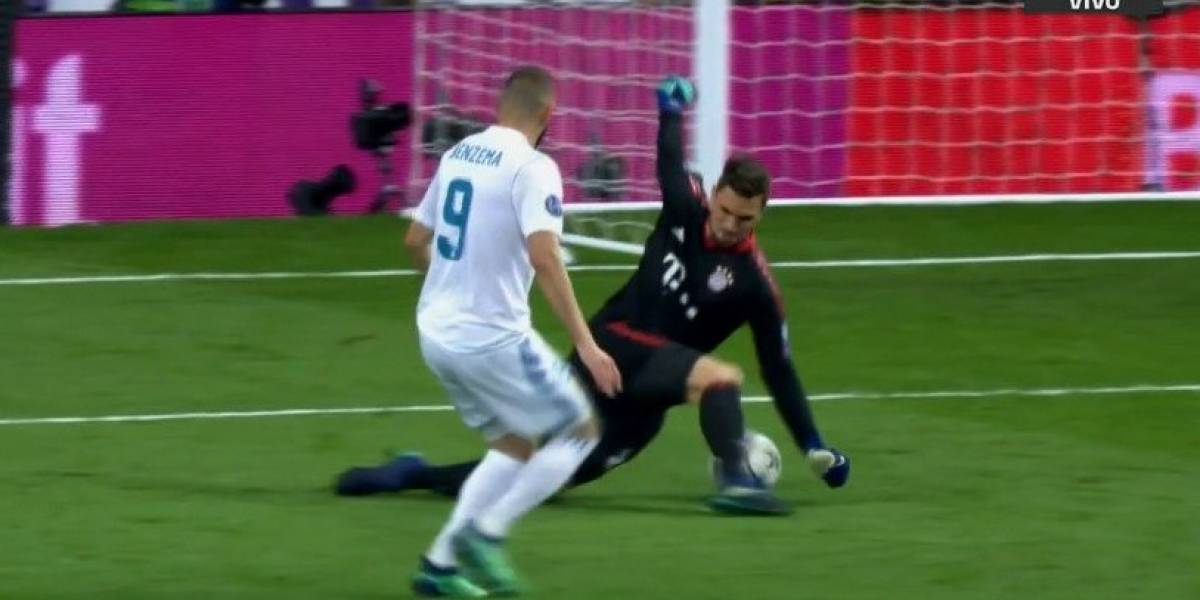 Terrible 'oso' de Ulreich en la Champions League