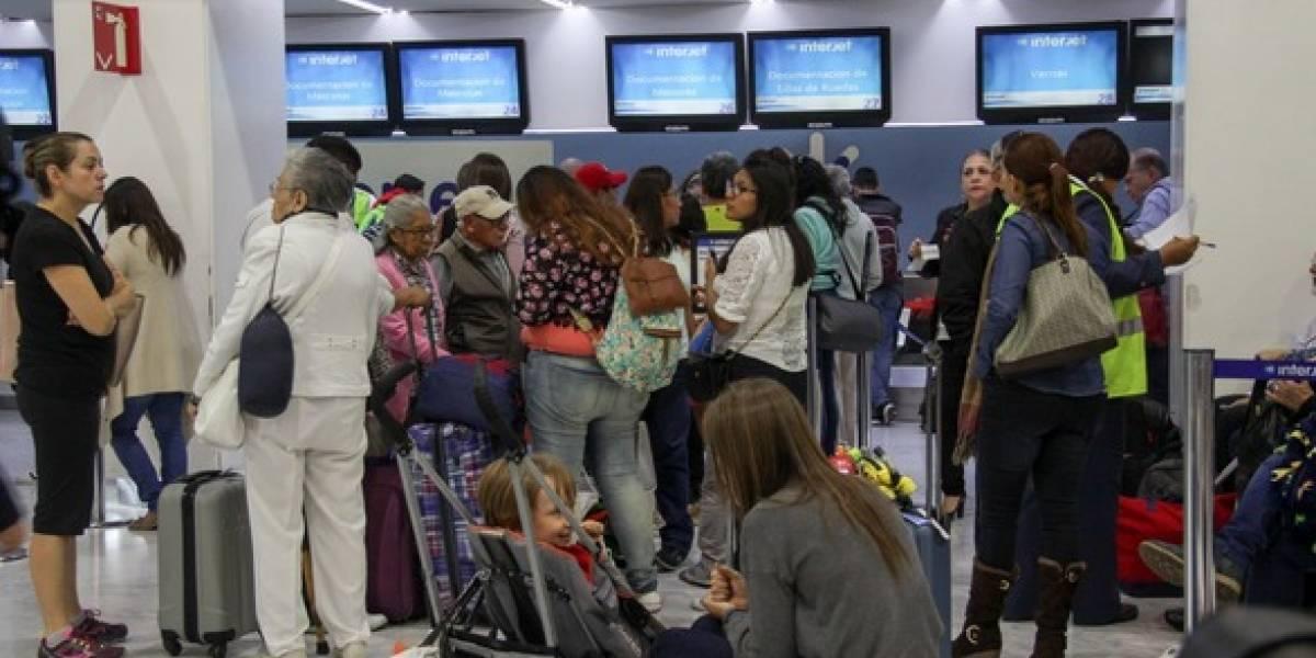 Interjet crece 15% en número de pasajeros transportados