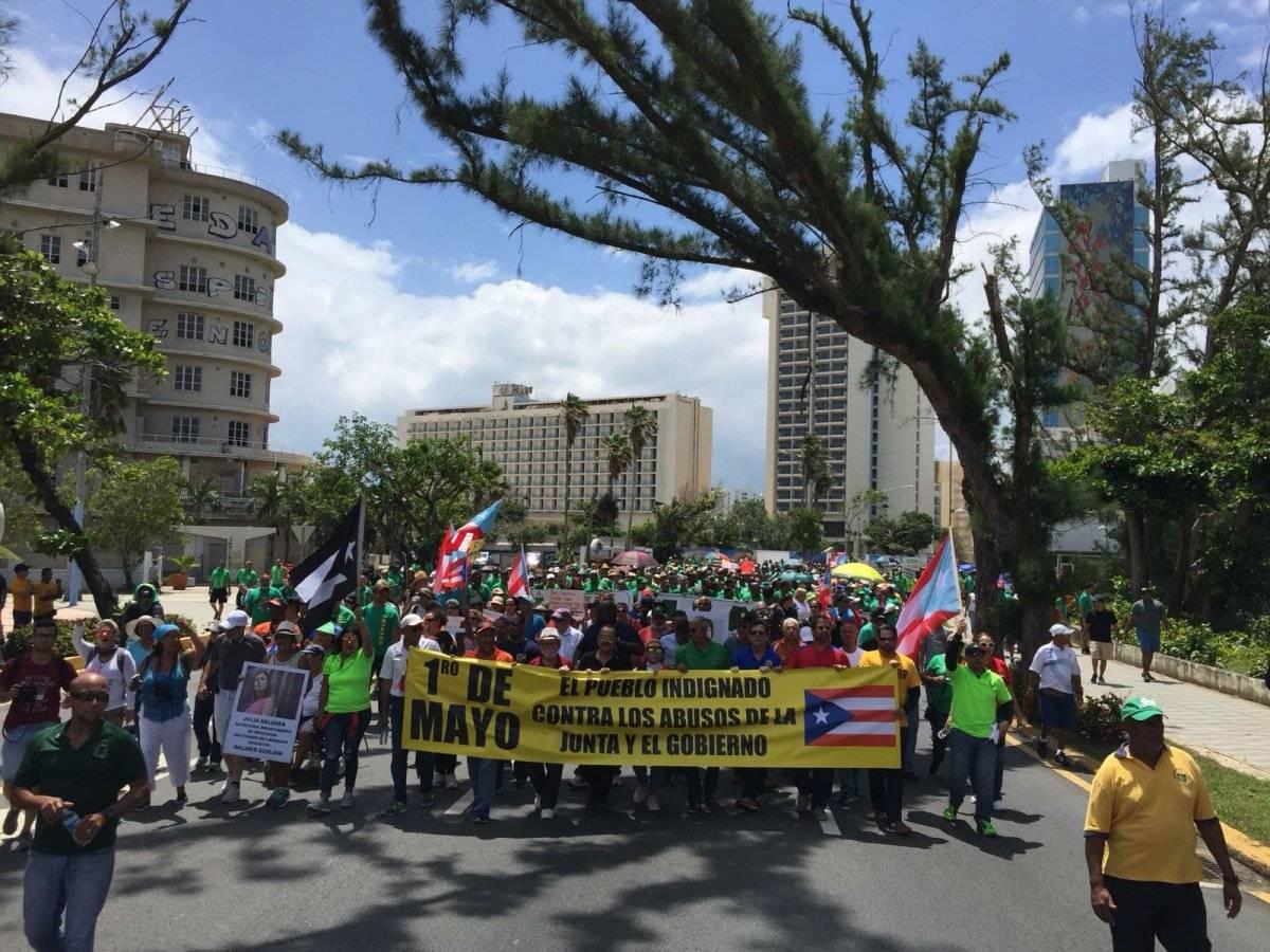 Alrededor de las 10:30 de la mañana, la multitud comenzó a marchar hacia el Capitolio. / Foto: Miladys Soto