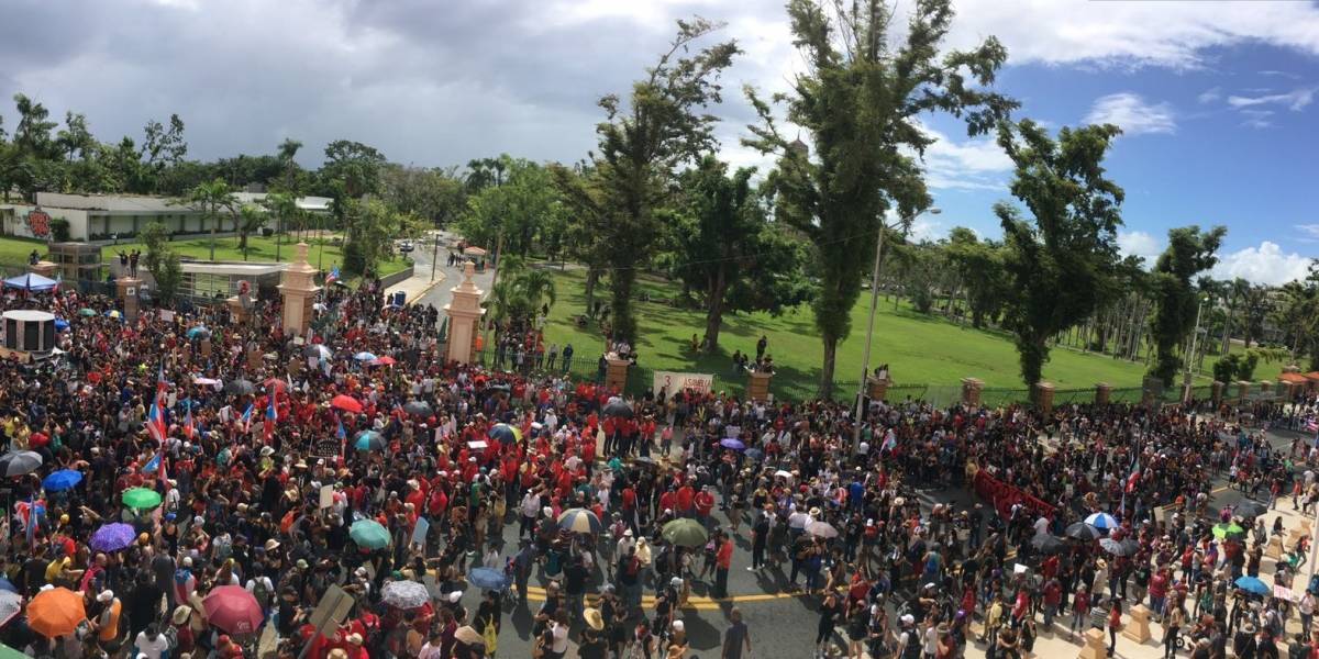 Marcharon desde la UPR para denunciar el Plan Fiscal de la institución