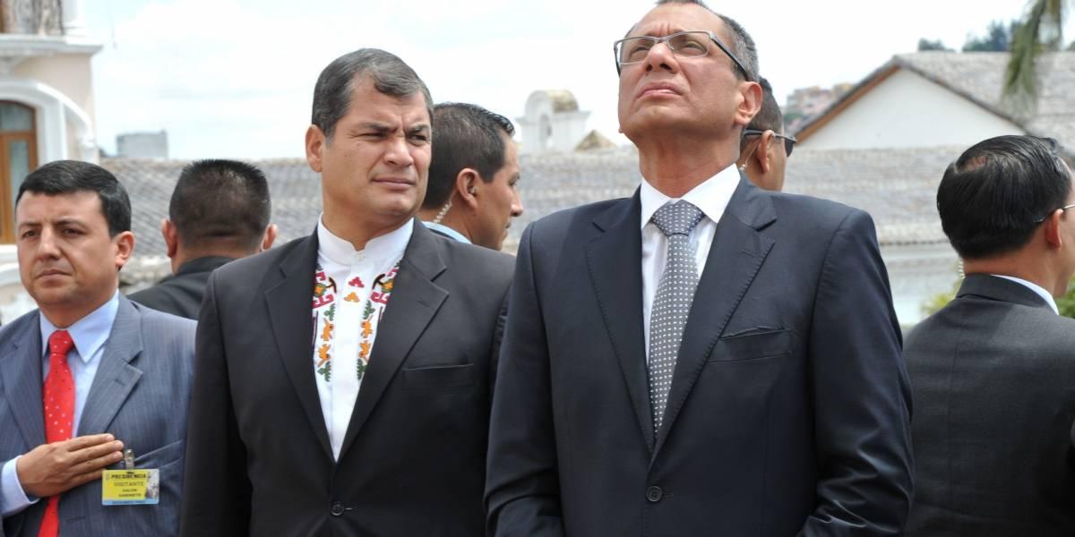 Rafael Correa envía mensaje de cumpleaños a Jorge Glas
