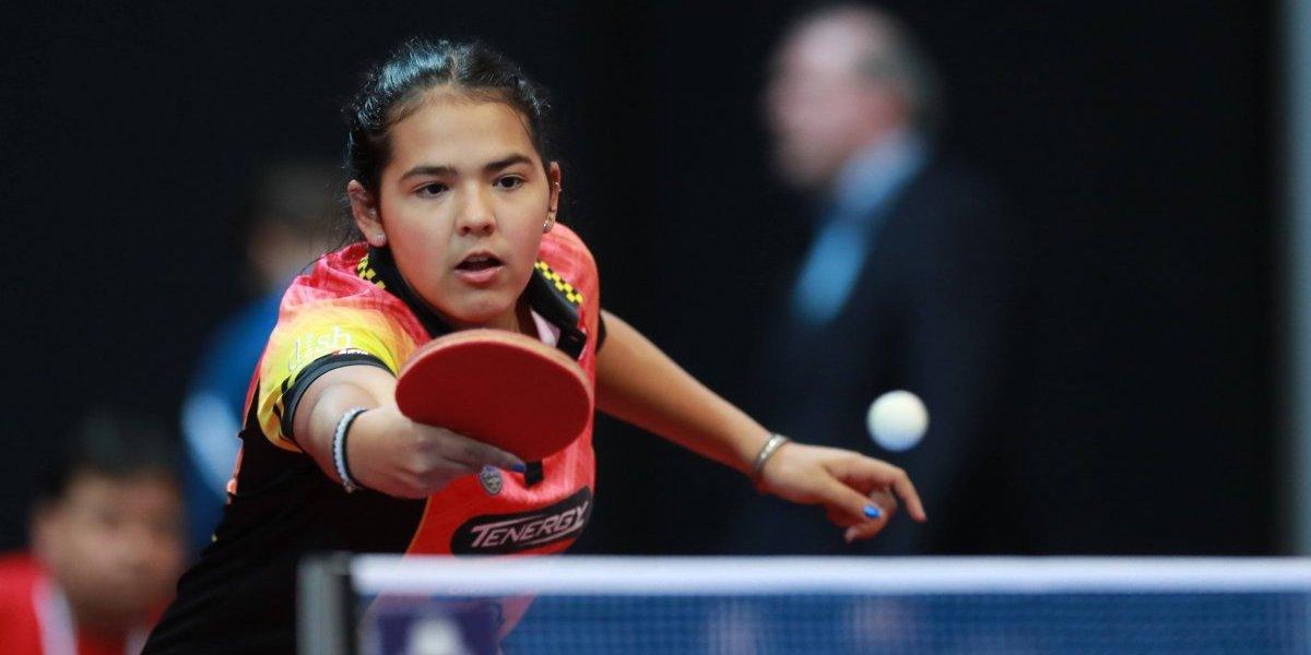 Adriana Díaz luchará por el oro en tenis de mesa