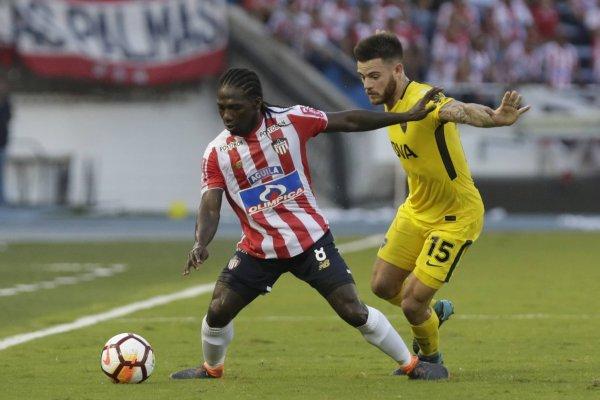 Goles de Junior 1-1 Boca Juniors en Copa Libertadores
