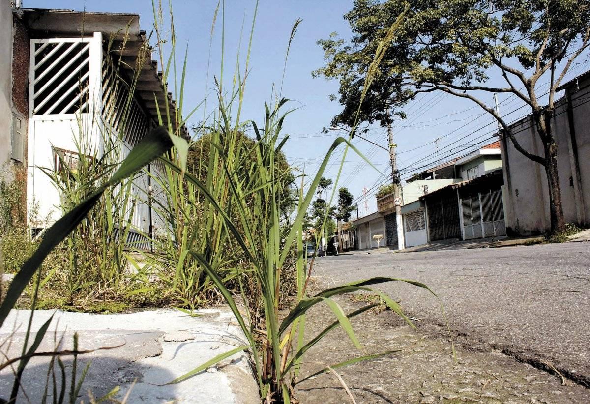 Manutenção de calçadas é de responsabilidade dos moradores Alessandro Valle/ABCDigipress