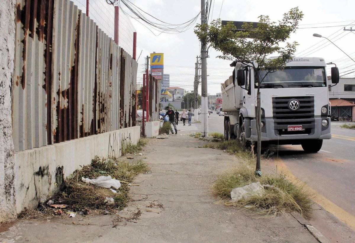 Prefeitura diz que capinas são realizadas em períodos que variam entre 30 e 120 dias Alessandro Valle/ABCDigipress