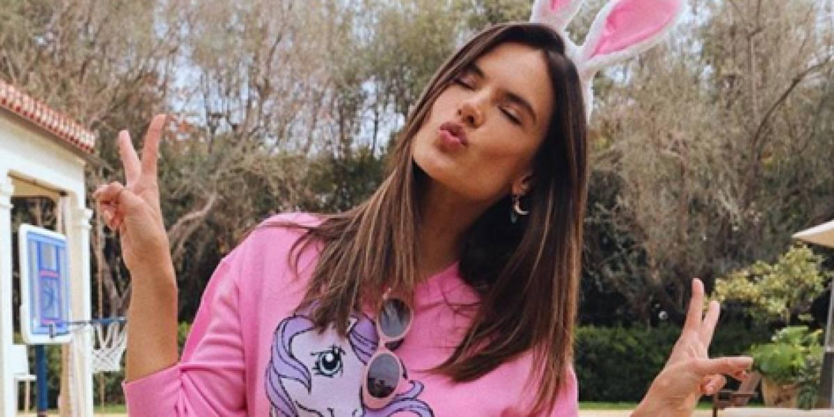 Alessandra Ambrósio quer aprender a não trabalhar com coisas banais