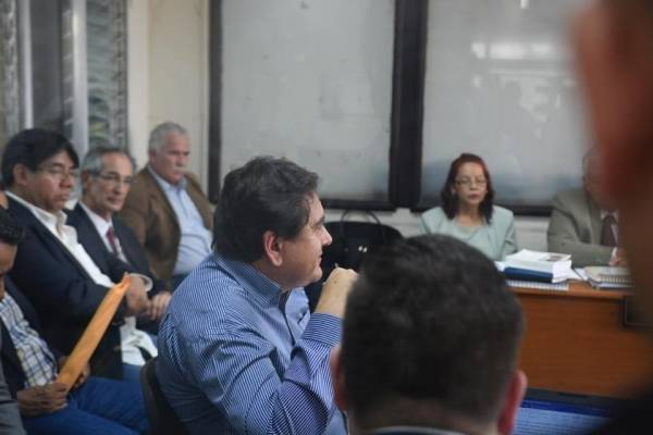 caso Transurbano, arresto domiciliario para Álvaro Colom