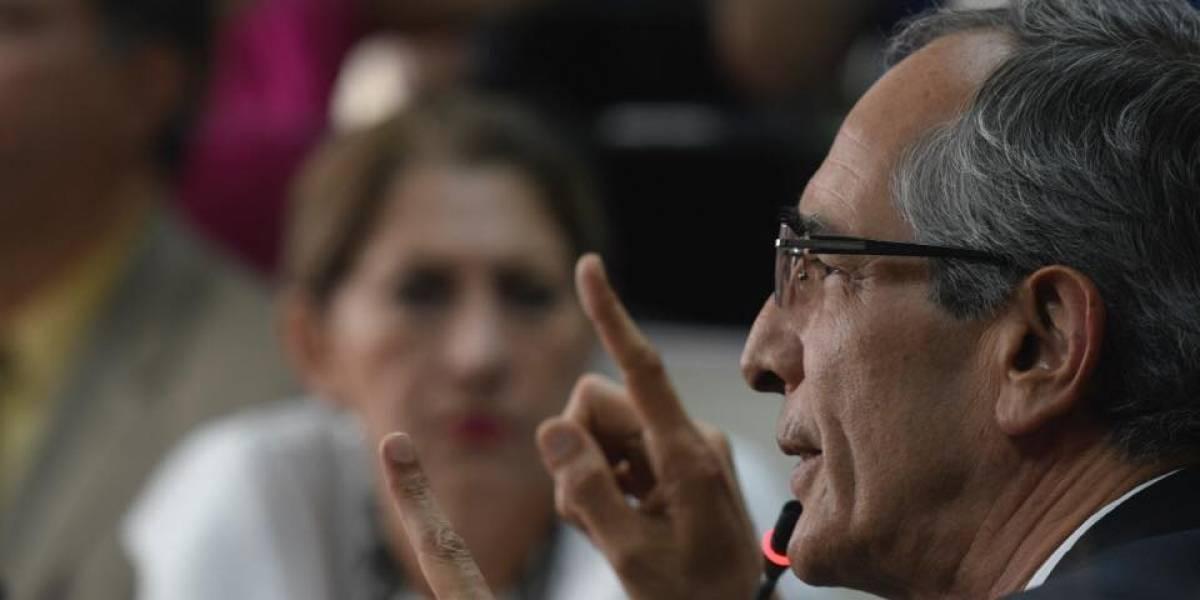 Expresidente Colom aún no paga fianza de Q1 millón para poder salir de prisión