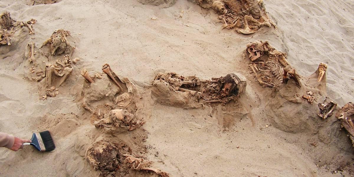 El sacrificio de niños más grande del mundo podría haber ocurrido en Perú