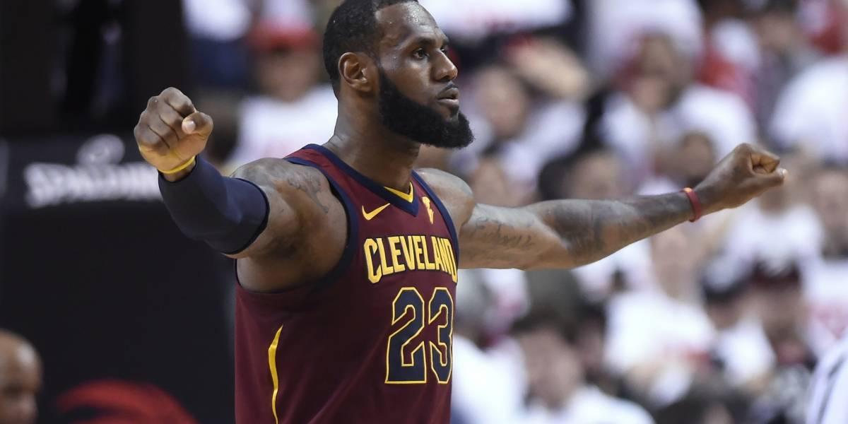LeBron James vuelve a ser la gran figura de Cleveland