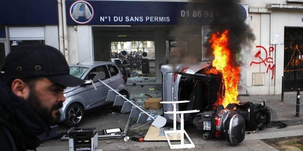 Violencia en el Primero de Mayo deja 109 detenidos en París