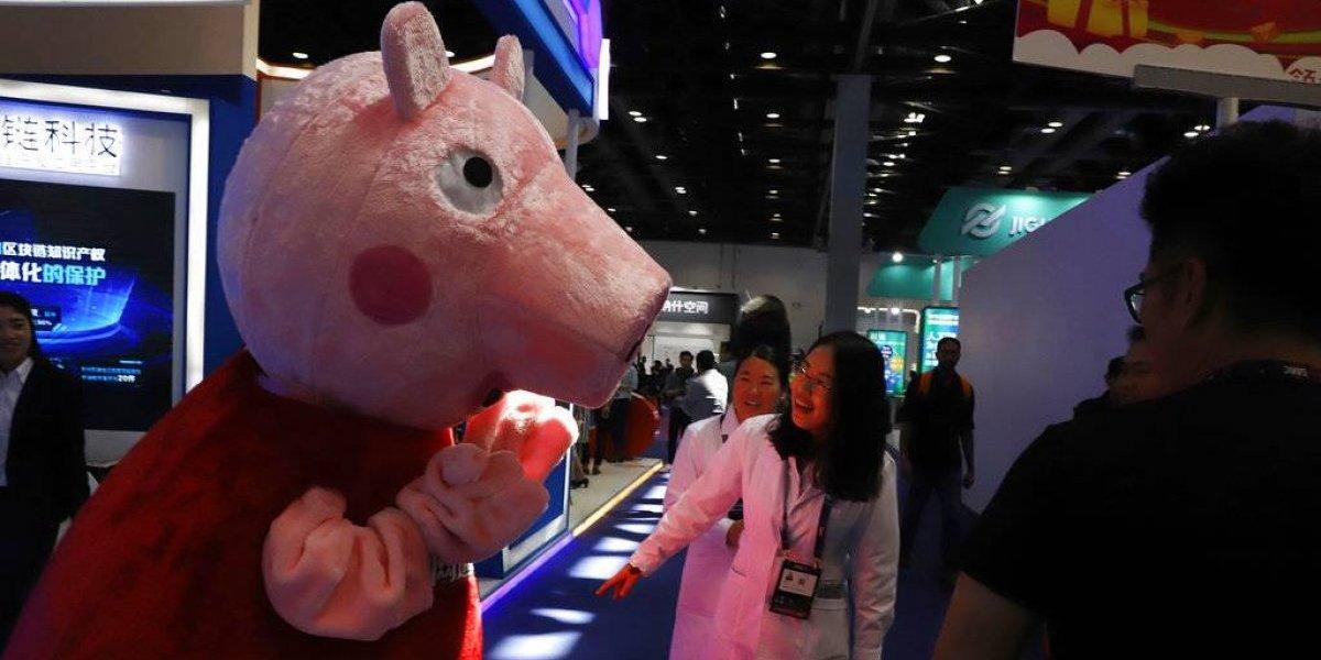Popularidad de Peppa Pig en China atrae a los censores