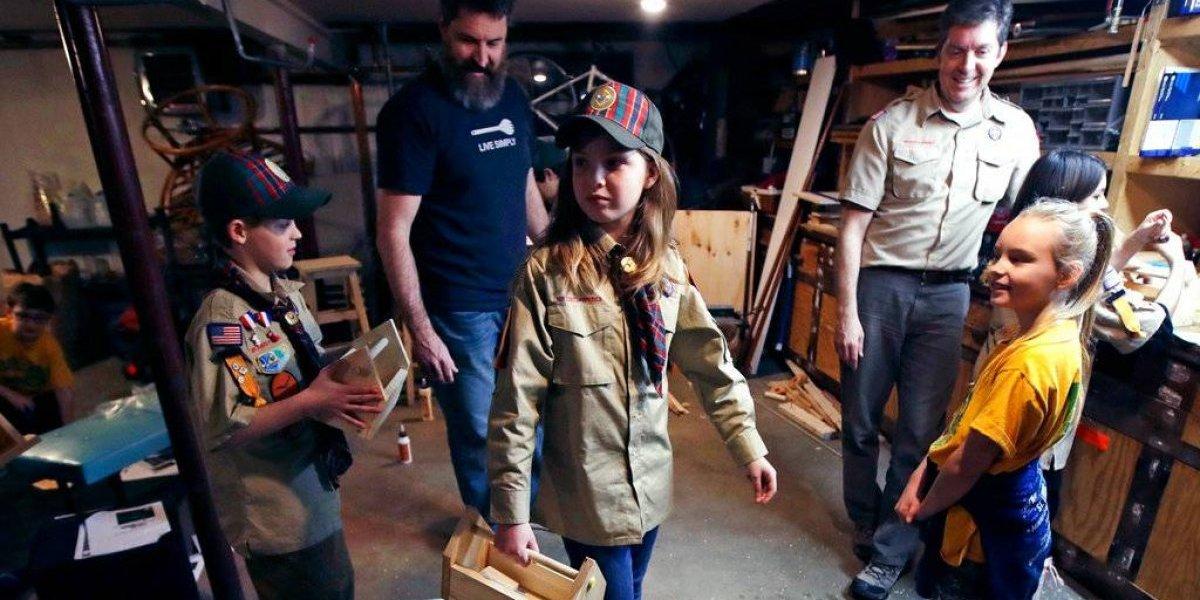 Ante llegada de las niñas, los Boy Scouts cambiarán nombre