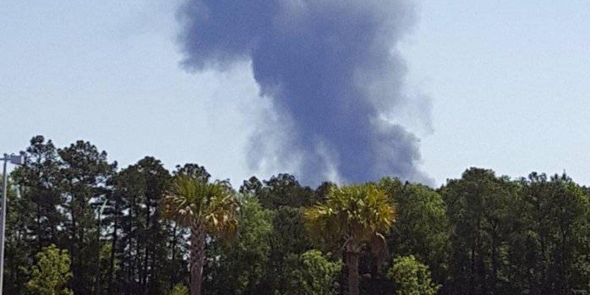 Avión militar con boricuas a bordo se estrella en Georgia