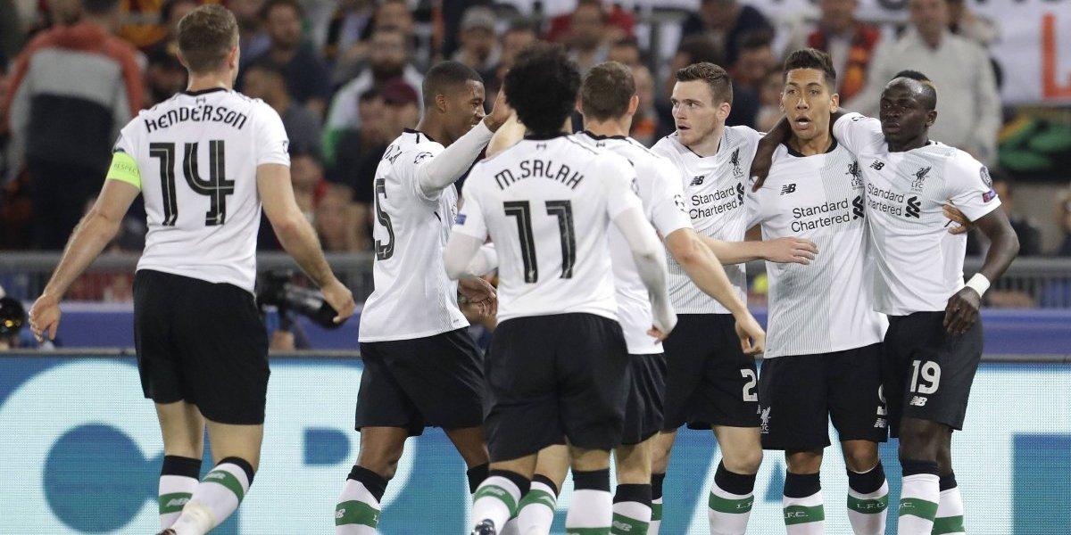 Liverpool sufrió ante una corajuda AS Roma y desafía a Real Madrid en la final de la Champions