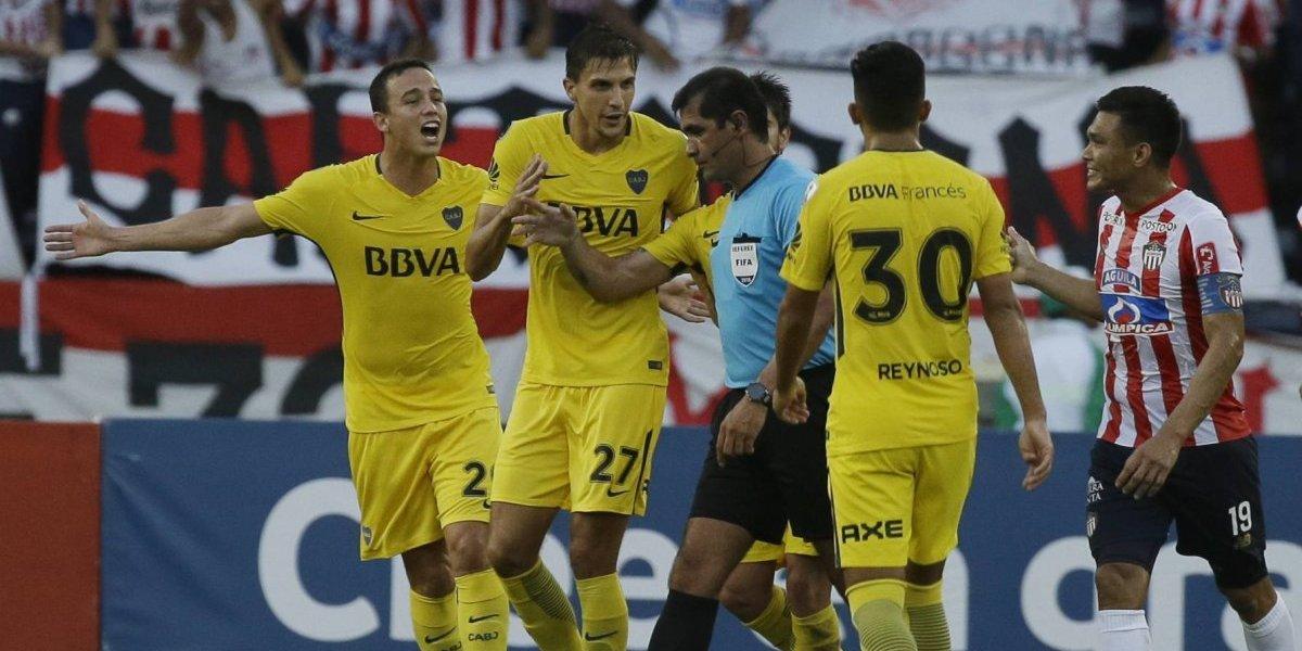 Boca no pudo con Junior y quedó al borde de la eliminación en la Libertadores