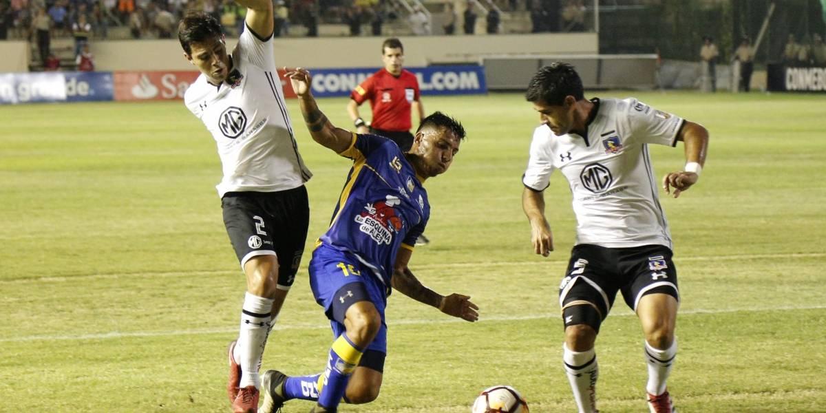 Copa Libertadores: Delfín perdió 1-2 ante Colo Colo en el estadio Jocay