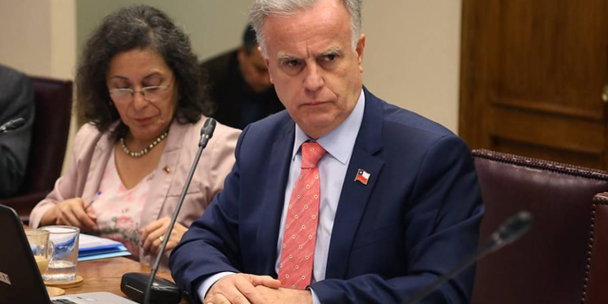 Ministro Santelices asiste a interpelación en la Cámara de Diputados