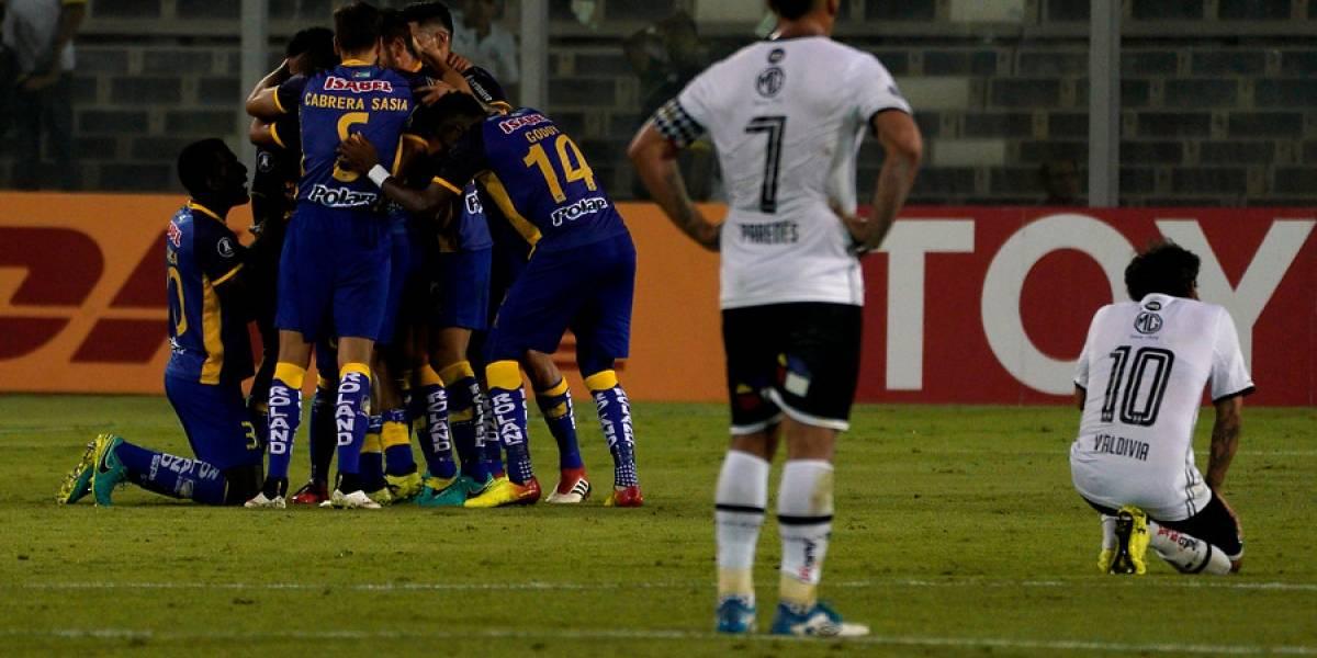 Así vivimos el sufrido triunfo de Colo Colo sobre Delfín en Manta por Copa Libertadores