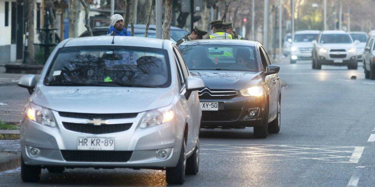 Así funciona la nueva restricción vehicular en Santiago
