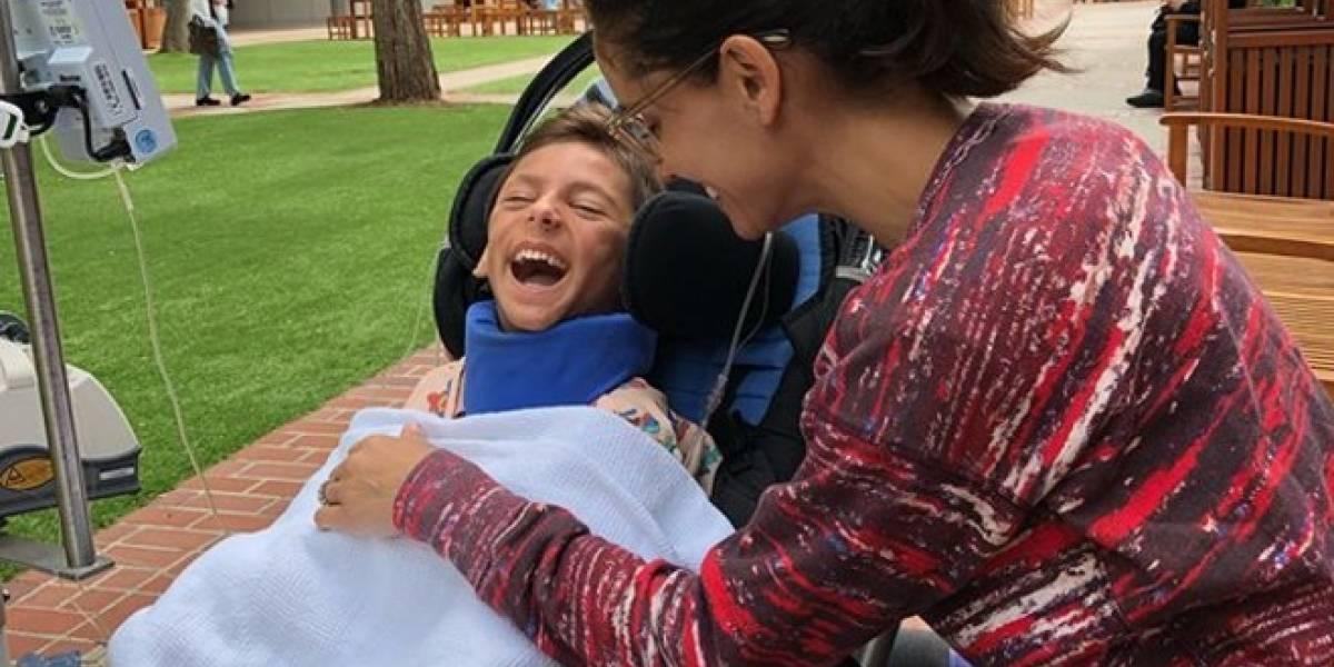 """""""Fuerza niño de mi corazón"""": Leonor Varela publica desgarradora foto con su hijo Matteo"""