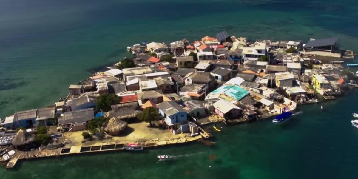 Las lecciones de sostenibilidad que encontró Bancolombia en el Islote de Santa Cruz, Bolívar