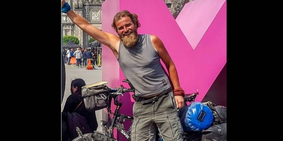 Reportan desaparición de ciclista alemán en Chiapas
