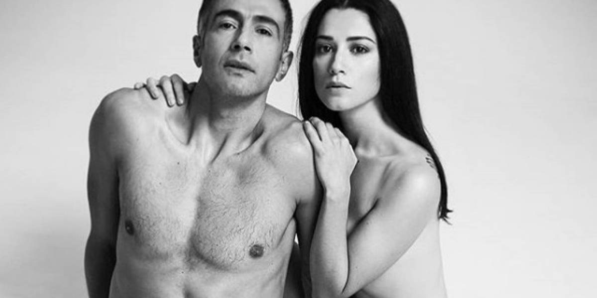 """Actores de """"Perdona nuestros pecados"""" comparten osada sesión fotográfica"""