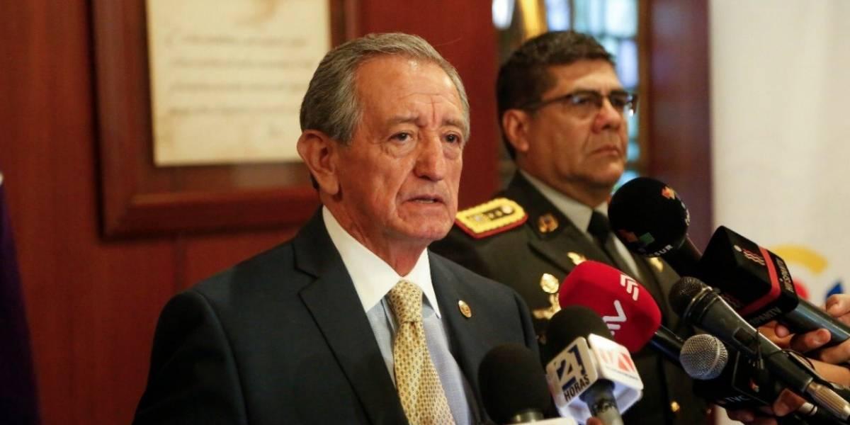 Oswaldo Jarrín asegura que el ministerio de Defensa asume vocería sobre frontera norte