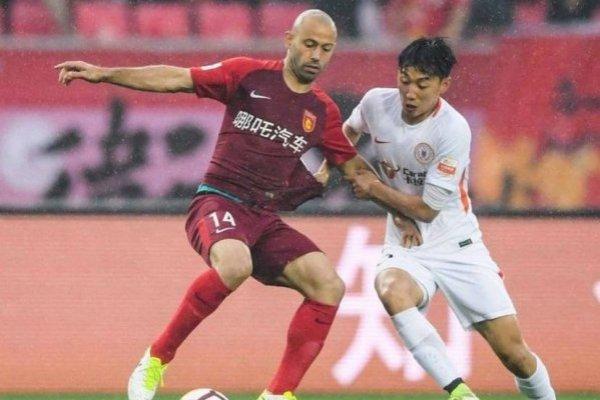 Javier Mascherano es la gran figura del Hebei Fortune de Manuel Pellegrini / Foto: Twitter