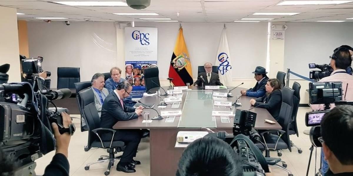 CPCCS transitorio designa a Paúl Pérez Reina como Fiscal General encargado