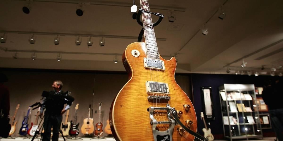 Fabricante de guitarras Gibson se declaró en bancarrota