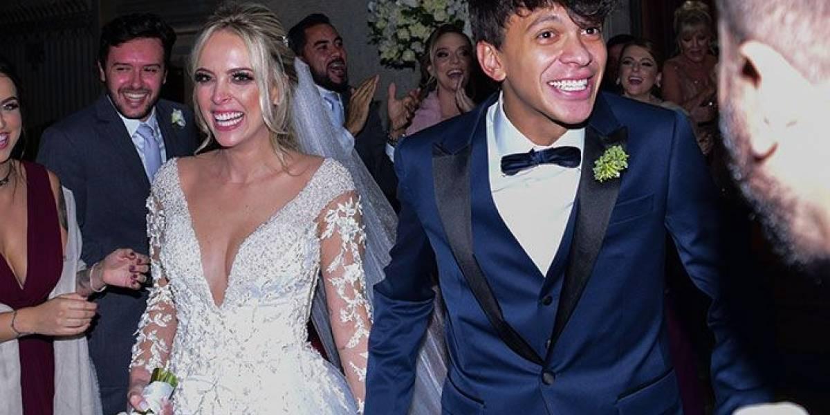 Tata Estaniecki e Júlio Cocielo se casam pela 2ª vez